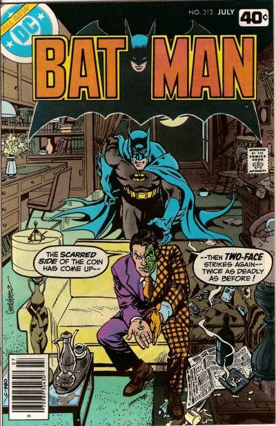 Cover for Batman (DC, 1940 series) #313 [Regular Edition]