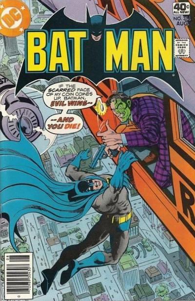 Cover for Batman (DC, 1940 series) #314