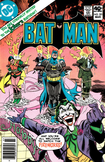 Cover for Batman (DC, 1940 series) #321