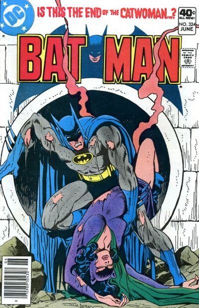 Cover for Batman (DC, 1940 series) #324 [Whitman Variant]