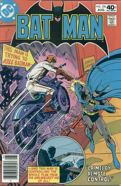 Cover for Batman (DC, 1940 series) #326 [Whitman Edition]