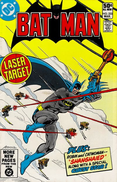 Cover for Batman (DC, 1940 series) #333 [Newsstand]