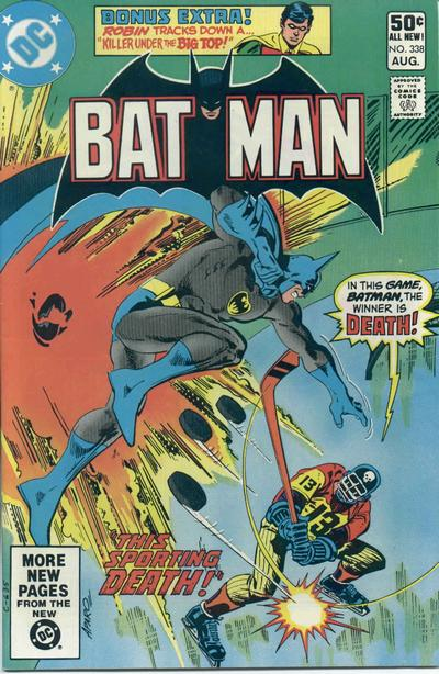Cover for Batman (DC, 1940 series) #338 [Direct Sales]