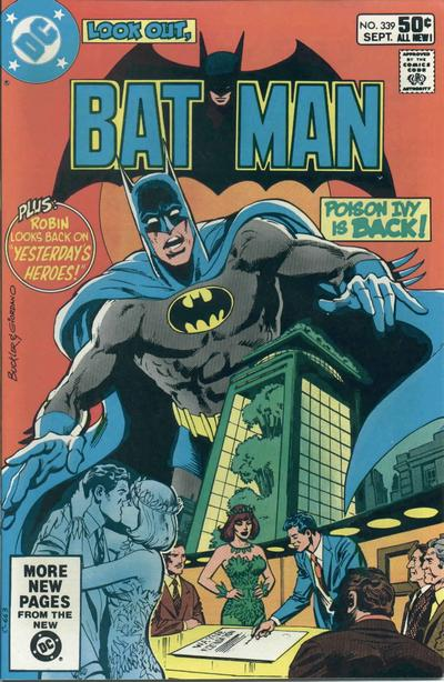 Cover for Batman (DC, 1940 series) #339 [Direct Edition]