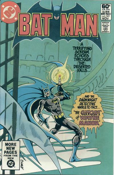 Cover for Batman (DC, 1940 series) #341 [Newsstand]