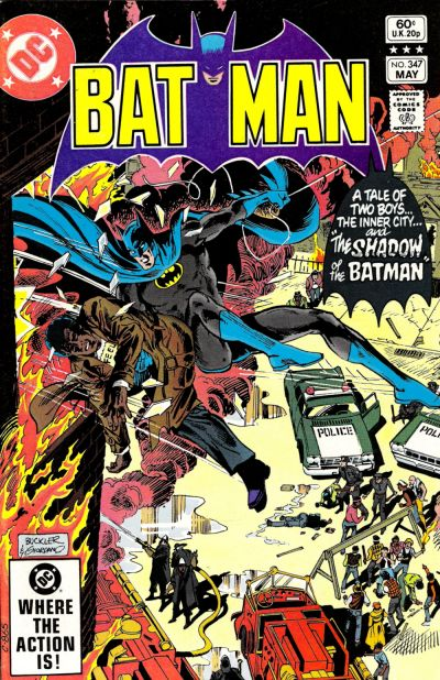 Cover for Batman (DC, 1940 series) #347 [Direct Edition]