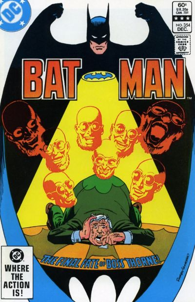 Cover for Batman (DC, 1940 series) #354 [Newsstand]