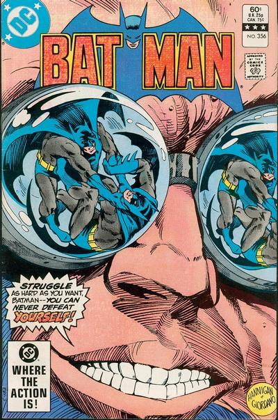 Cover for Batman (DC, 1940 series) #356 [Newsstand Edition]