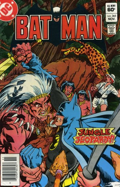 Cover for Batman (DC, 1940 series) #365 [Newsstand]