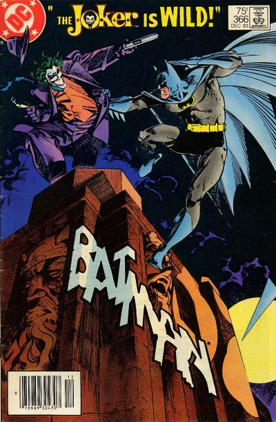 Cover for Batman (DC, 1940 series) #366 [Newsstand]