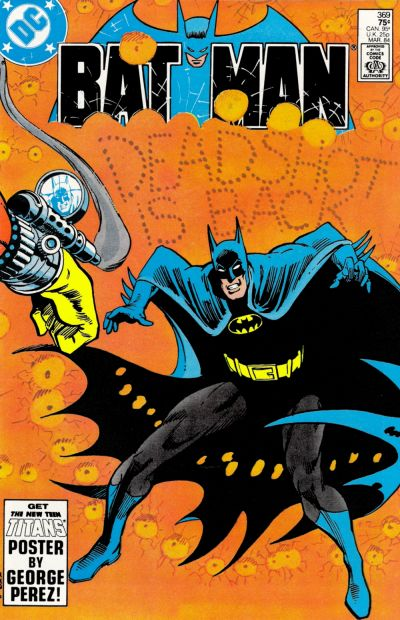 Cover for Batman (DC, 1940 series) #369 [Newsstand]