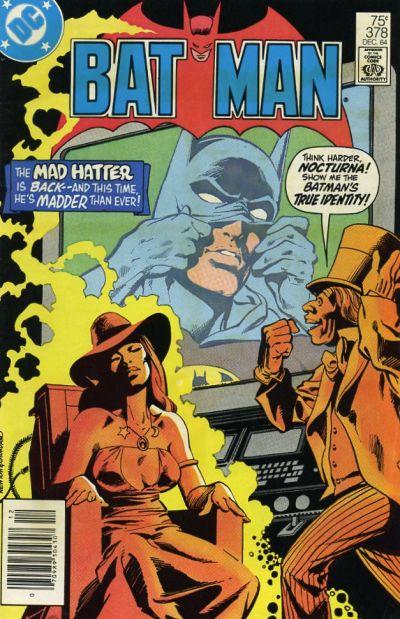 Cover for Batman (DC, 1940 series) #378 [Newsstand]