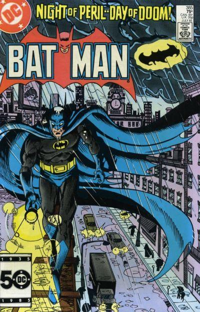 Cover for Batman (DC, 1940 series) #385