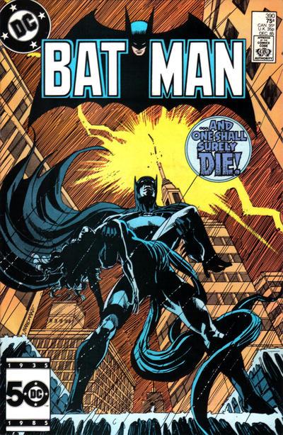 Cover for Batman (DC, 1940 series) #390