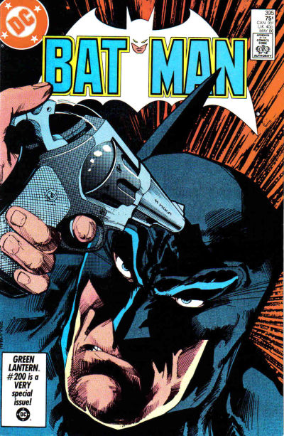 Cover for Batman (DC, 1940 series) #395