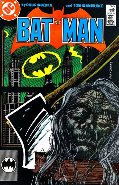 Cover for Batman (DC, 1940 series) #399 [Newsstand Variant]