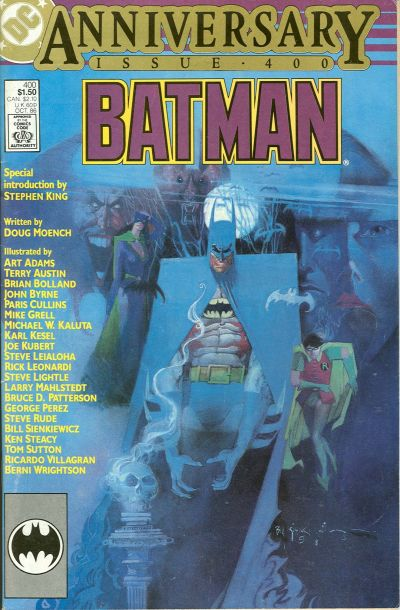 Cover for Batman (DC, 1940 series) #400 [Direct Sales]