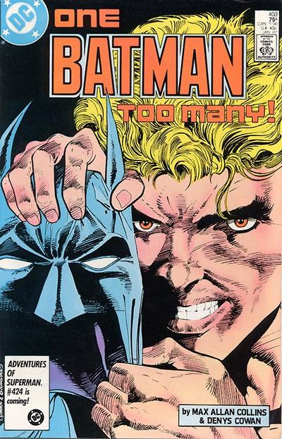 Cover for Batman (DC, 1940 series) #403 [Direct Edition]