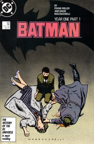 Cover for Batman (DC, 1940 series) #404 [Direct Edition]