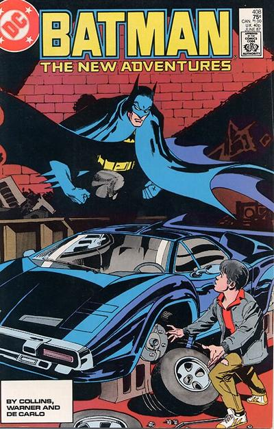 Cover for Batman (DC, 1940 series) #408 [Direct Sales]
