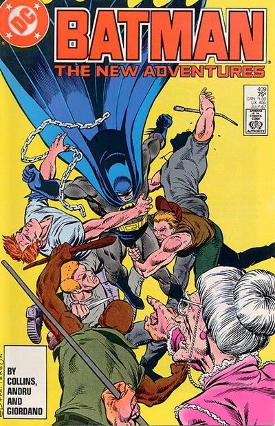 Cover for Batman (DC, 1940 series) #409 [Newsstand]