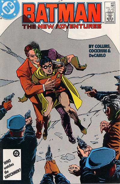 Cover for Batman (DC, 1940 series) #410 [Newsstand]