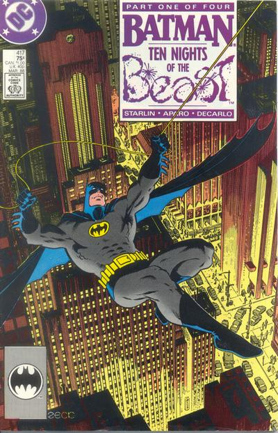 Cover for Batman (DC, 1940 series) #417 [Direct Edition]