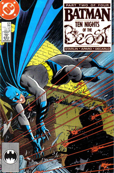 Cover for Batman (DC, 1940 series) #418