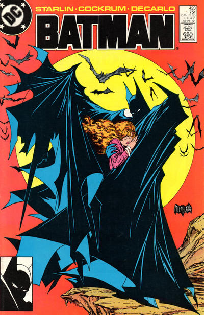 Cover for Batman (DC, 1940 series) #423 [Direct Edition]