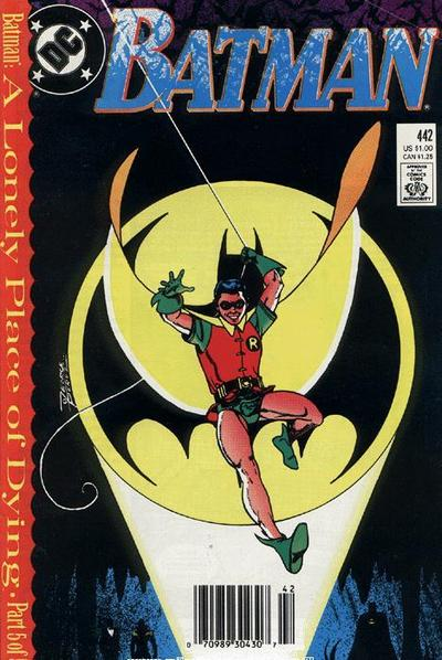 Cover for Batman (DC, 1940 series) #442