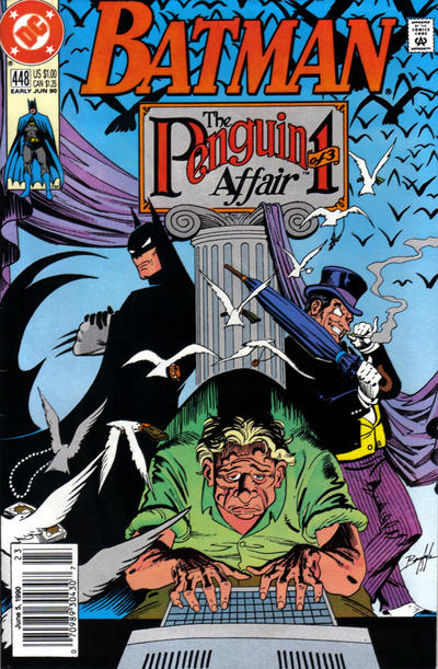Cover for Batman (DC, 1940 series) #448 [Direct]