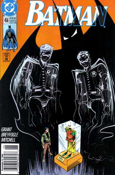Cover for Batman (DC, 1940 series) #456 [Newsstand]
