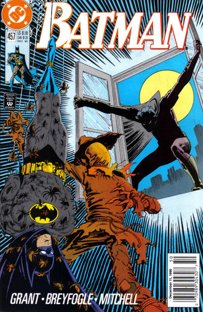 Cover for Batman (DC, 1940 series) #457 [Newsstand]