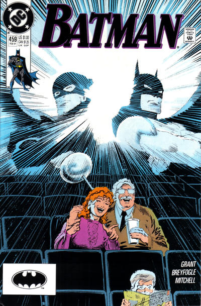 Cover for Batman (DC, 1940 series) #459