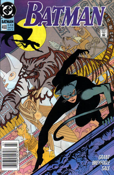 Cover for Batman (DC, 1940 series) #460 [Direct]