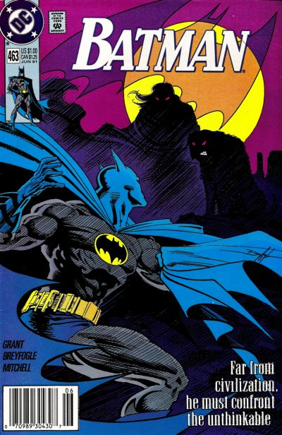 Cover for Batman (DC, 1940 series) #463 [Direct]