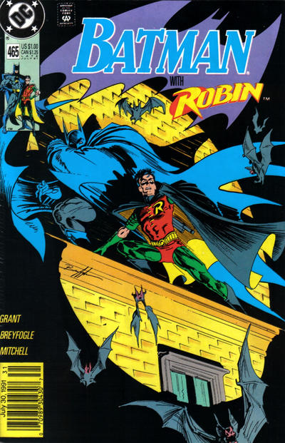 Cover for Batman (DC, 1940 series) #465 [Newsstand]