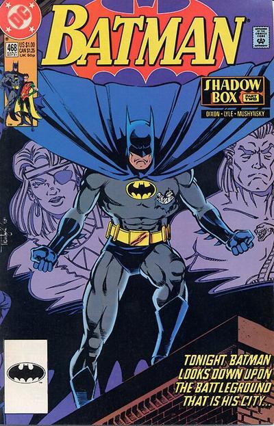 Cover for Batman (DC, 1940 series) #468