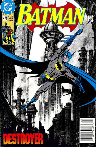 Cover for Batman (DC, 1940 series) #474 [Newsstand]