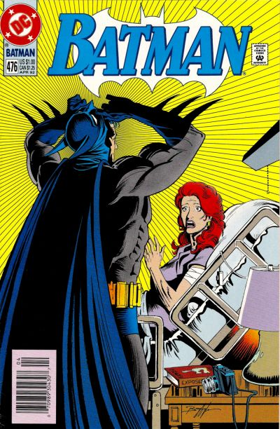 Cover for Batman (DC, 1940 series) #476 [Newsstand]