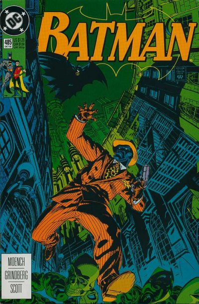Cover for Batman (DC, 1940 series) #485