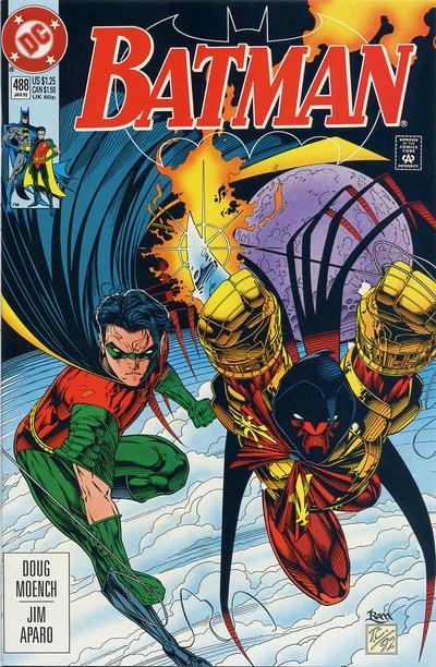 Cover for Batman (DC, 1940 series) #488