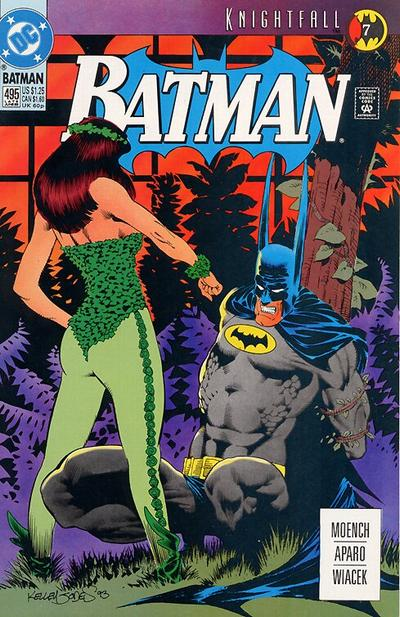 Cover for Batman (DC, 1940 series) #495 [Newsstand]