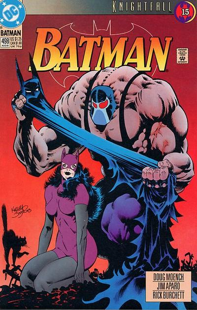 Cover for Batman (DC, 1940 series) #498 [Direct]