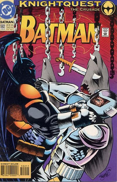 Cover for Batman (DC, 1940 series) #502