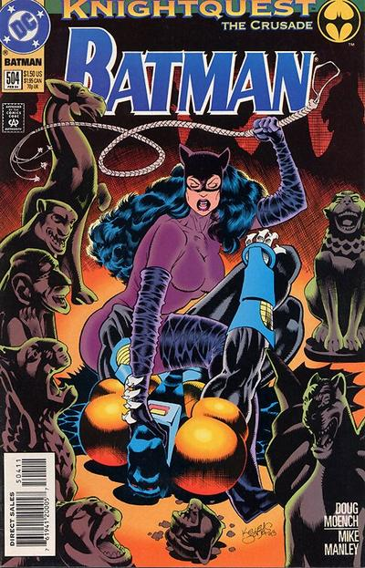 Cover for Batman (DC, 1940 series) #504