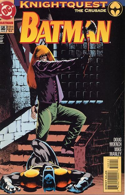 Cover for Batman (DC, 1940 series) #505