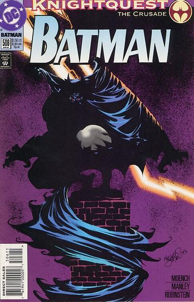 Cover for Batman (DC, 1940 series) #506