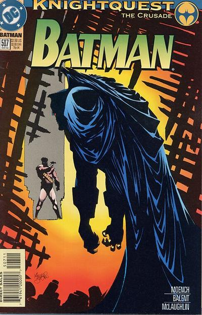 Cover for Batman (DC, 1940 series) #507
