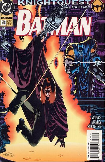 Cover for Batman (DC, 1940 series) #508